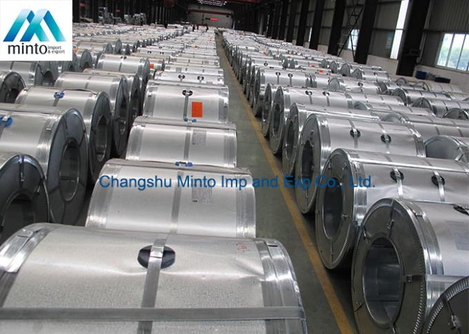 ASTM A792 G60 Galvalume Steel Coil Hot Dipped Galvanized 508mm / 610mm