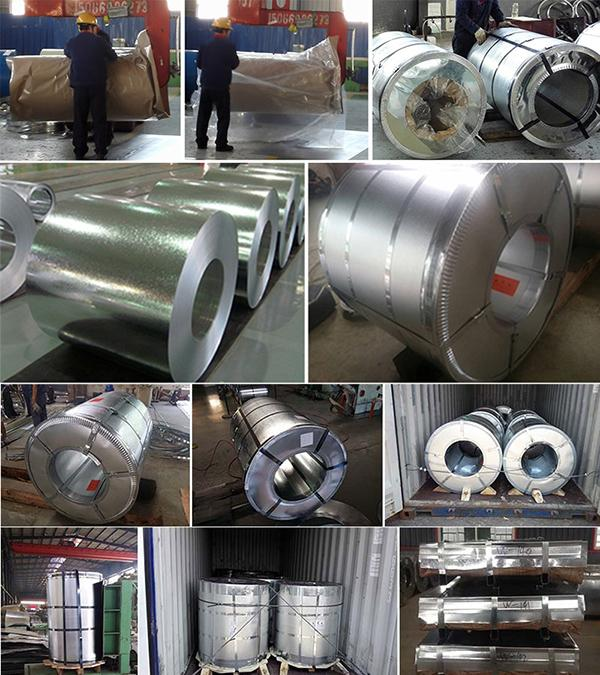 Chinese Manufacturer Building Material Galvanized Steel Coil for Construction