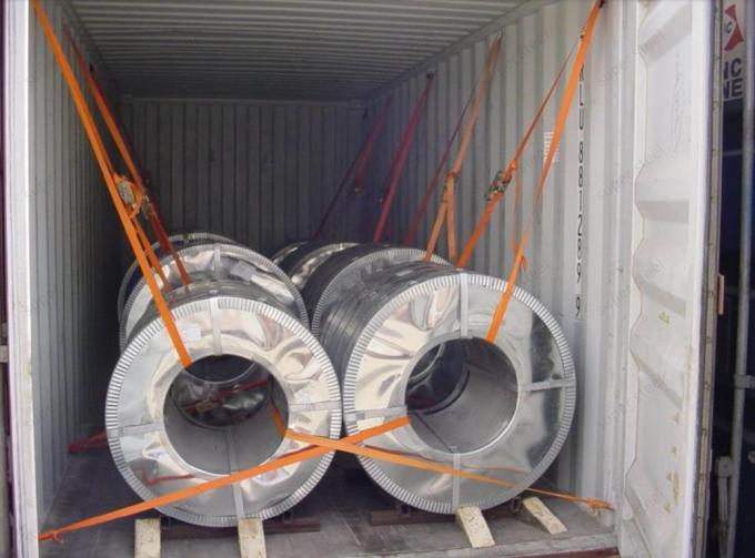 Q195 Hot Dipped Galvanised Steel Strip Cold Rolled GB700-88 GB/T 8164-1993