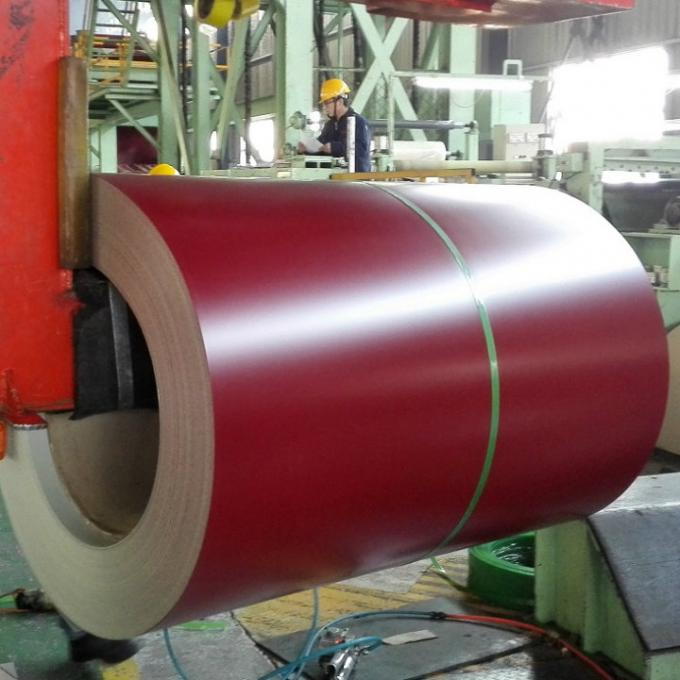 0.14-0.8mm Building Material PPGI (Prepainted) Color Coated Galvanized Steel Coil