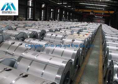 China ASTM A792 G60 Galvalume Steel Coil Hot Dipped Galvanized 508mm / 610mm supplier