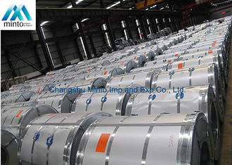 China Mini Spangle Prime Hot Dipped Galvanized Steel Coils ASTM JIS G 3302 DIN supplier