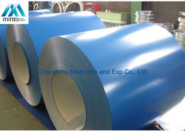 China SPCC SPCD Q195 Pre Painted Aluminium Coil Color Coated Skin Pass Surface supplier