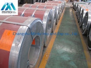China Cold Rolled Galvalume Steel Coil Color Steel Coil Fireproof Width 900mm - 950mm factory