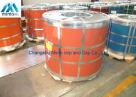 SGCC SGCH Matt Pre Painted Steel Coil Color Coated For Building Materials