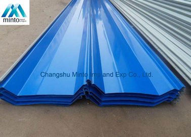 China Industrial Galvanized Corrugated Roofing Sheets Weather Proof Long Life Span distributor