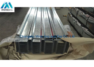 China Anti Corrosion Galvanised Corrugated Steel Roofing Sheets SGCC SGCH Shockproof distributor