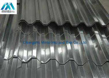 China Roof Tile Hot Dipped Galvanized Corrugated Metal Roofing Panels Water Resistant distributor