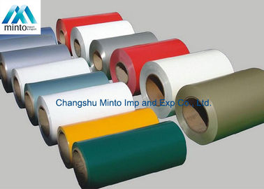 China Color Coated PPGI Prepainted Galvanized Steel Coil For Corrugated Roofing distributor
