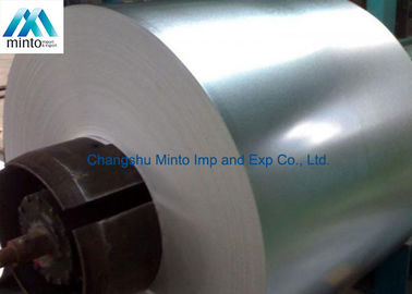 China Hot Rolled Coil Steel Galvanized Sheet Metal Rolls Regular Spangle Surface distributor