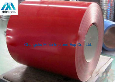China Light Weight Pre Painted Aluminium Coil 3003H24 3003H26 Weather Resistant distributor