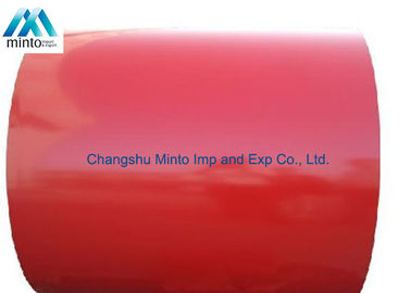 China JIS G3322 CGLCC Color Coated Steel Coil PPGI Steel Coil 0.15MM - 0.60 MM Thickness distributor