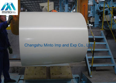 China Lightweight Color Coated Steel Coil Anti Corrosion With ISO9001 Certification distributor