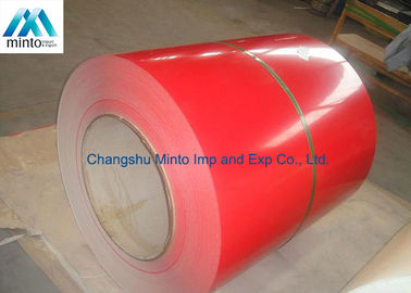 China Customized Color Coated Steel Coil JIS DX51D SGCC Q235 60 - 80 Degrees Gloss distributor