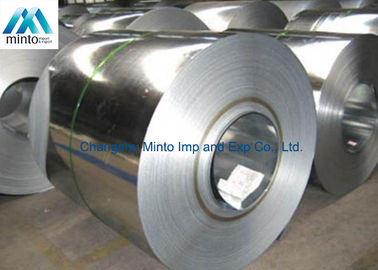 China Regular Spangle Aluminium Coated Steel Zinc Coil For Construction / Auto Parts distributor