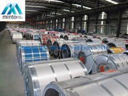 Cold Rolled Galvalume Steel Coil Color Steel Coil Fireproof Width 900mm - 950mm