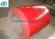 Customized Color Coated Steel Coil JIS DX51D SGCC Q235 60 - 80 Degrees Gloss